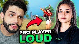 Primeira Ranqueada Com A Nova Pro Player Da Loud No Free Fire!!!