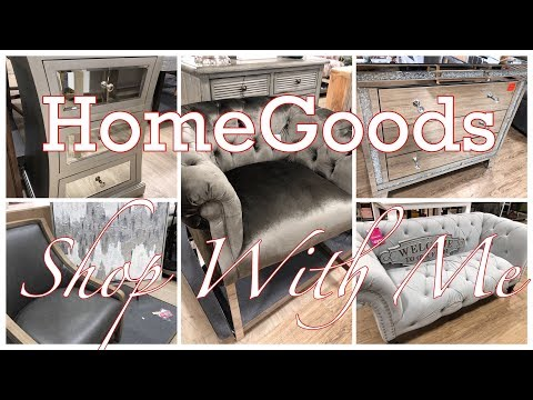 HOMEGOODS~NEW FURNITURE AND DECOR FOR THE HOME!