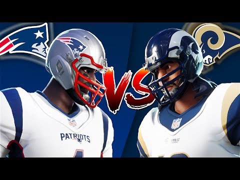 Download NFL RUMBLE SUPER BOWL LIII in FORTNITE BATTLE ROYALE (New England Patriots VS Los Angeles Rams)