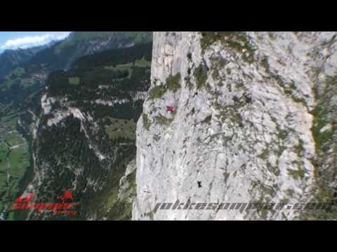 """Dream Lines - Part II"" Wingsuit Proximity Flying by Jokke Sommer"