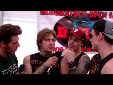 Sworn Amongst Interview - Bloodstock Festival 2013