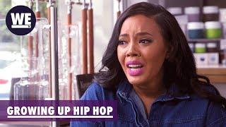 'Is Kristinia Sleeping w/ Her Married Producer?' Sneak Peek | Growing Up Hip Hop | WE tv