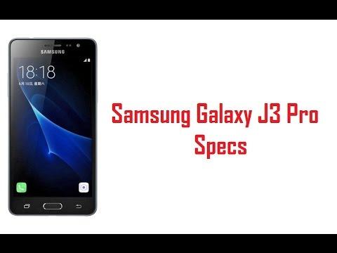 Samsung Galaxy J3 Pro Specs Features Price