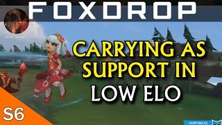 Tips on How to Carry as a Support in Low Elo