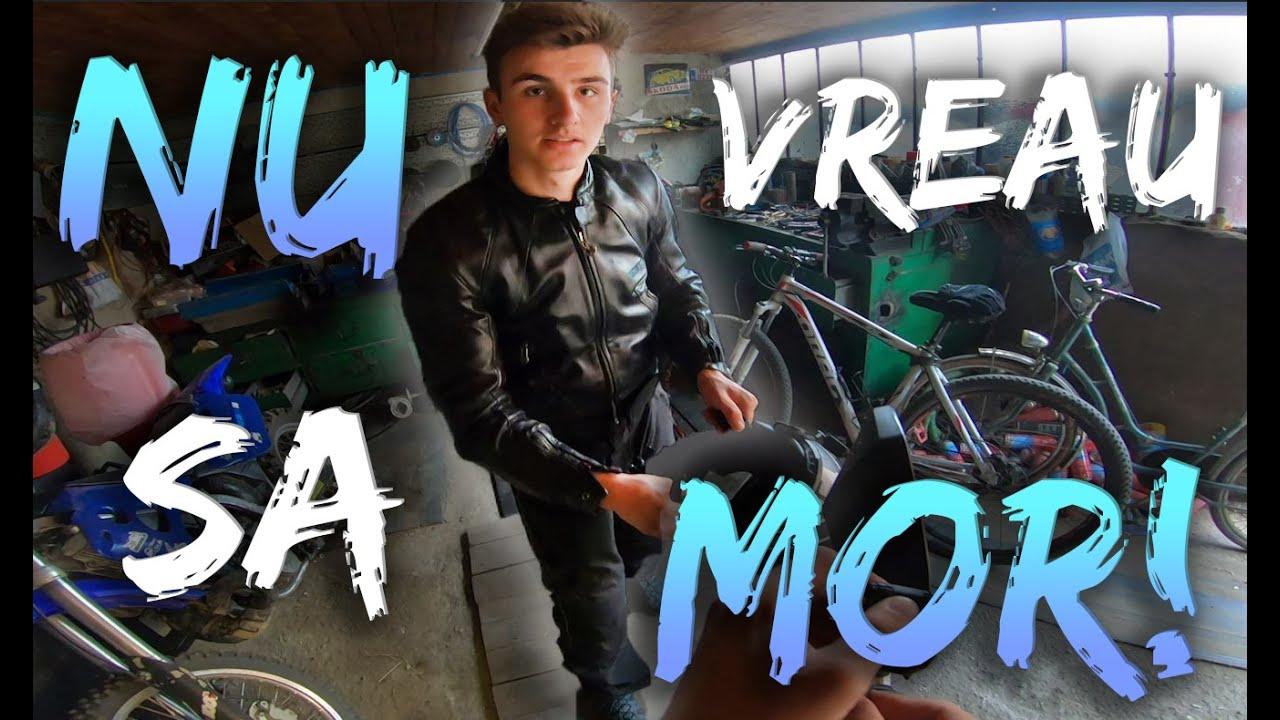 Pentru prima oara pe motocicleta - Dual vlog cu George #1