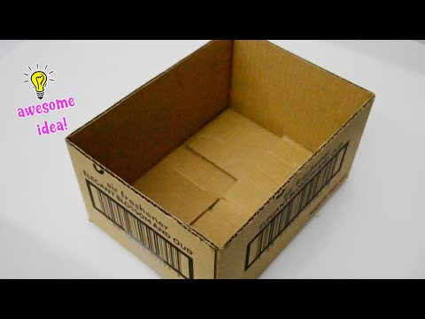 6 BEST CARDBOARD BOXES IDEAS YOU WANT TO MAKE WHEN YOU'RE AT HOME !