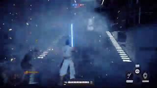 Star Wars Battlefront II | REY Rise of Skywalker Gameplay | Heroes vs Villains Death Star II