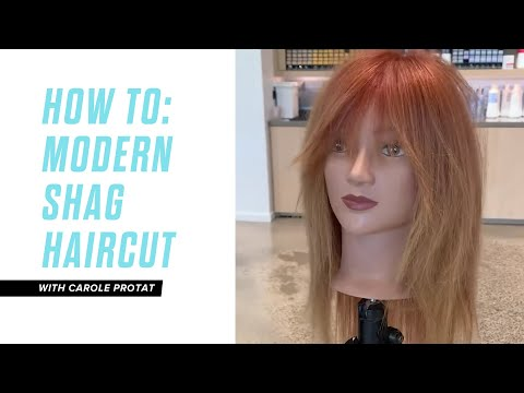 HOW TO: Modern Shag Haircut with Carole Protat