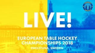 European table hockey championships day 3 - open individuals - play off