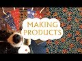 Making products, screen printing, and walks with the puppy | Illustration Vlog
