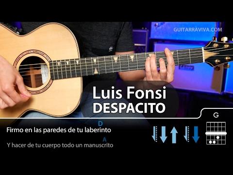 Cómo tocar Despacito en guitarra COMPLETO (Luis Fonsi)    Guitarraviva