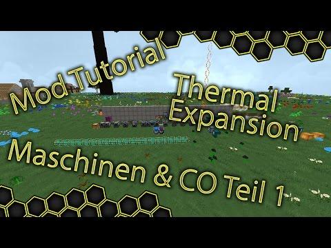 Maschinen & CO Teil 1 Thermal Expansion - Minecraft Mod Tutorial #005 | Deutsch/German