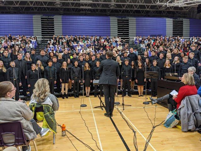 2020 Bellevue Public Schools 8-12 Choral Festival Highlight Video