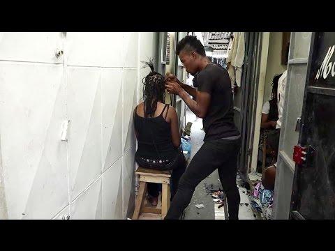 Marcory: la coiffure au masculin