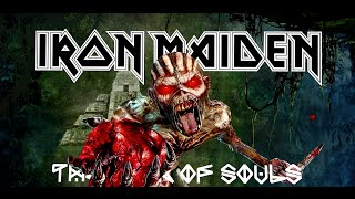 Iron Maiden - The Great Unknown lyrics on screen