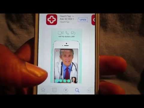 Health Tap: Video/Text Chat W/Doctors LIVE!