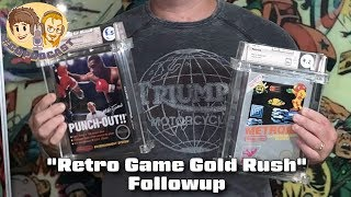 Retro Game Gold Rush Followup