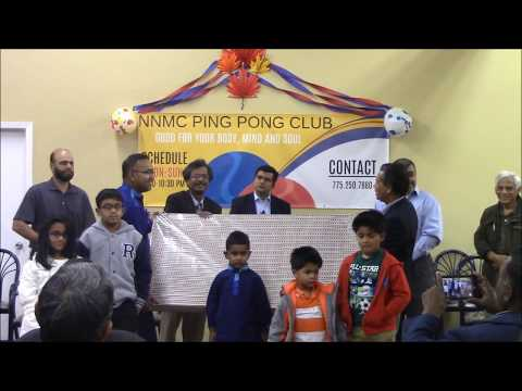 NNMC Ping Pong Club Opening ceremony TV Handover