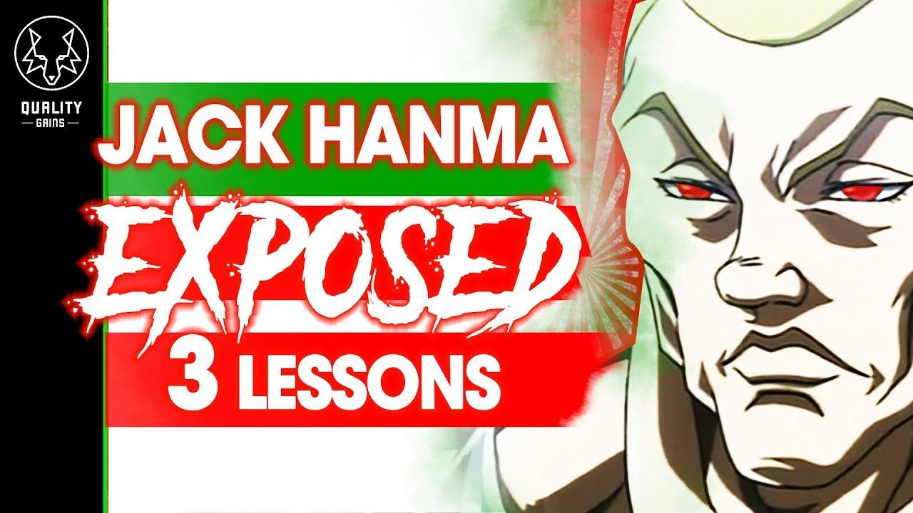 Jack Hanma Exposed - 3 Lessons From Baki The Grappler
