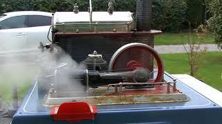 Machine à vapeur WILESCO D24 du XXe siècle.