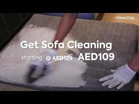 Sofa Deep Cleaning @109 AED only!