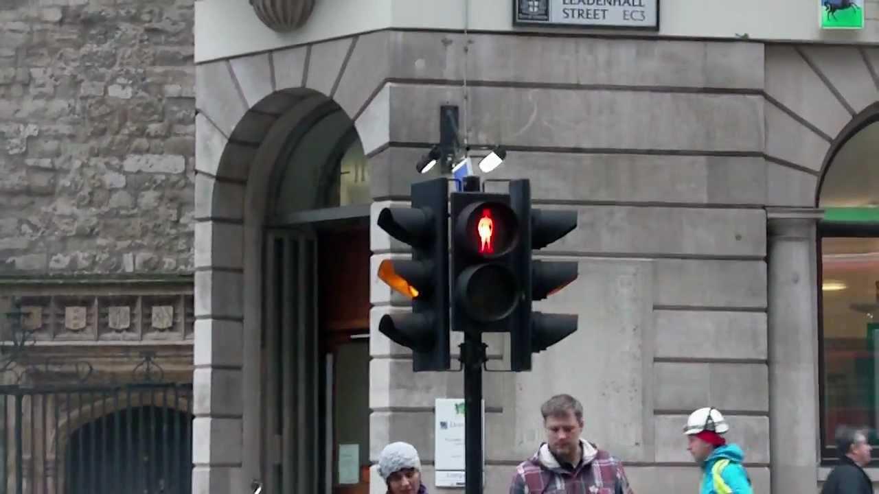 London S New Pedestrian Crossing Tune Leadenhall Street