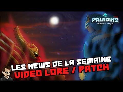 Paladins FR - Vidéo Lore et annonce patch OB 68