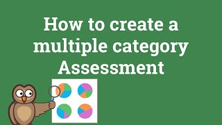 How to create a Multiple Category Assessment (personality tests, etc...)