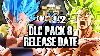 FREE & PAID DLC PACK 8 OFFICIAL RELEASE DATES! Dragon Ball Xenoverse 2 Gogeta, Broly, & FREE DLC!