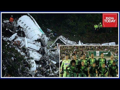 Brazil Club Footballers Killed In Plane Crash At Columbia