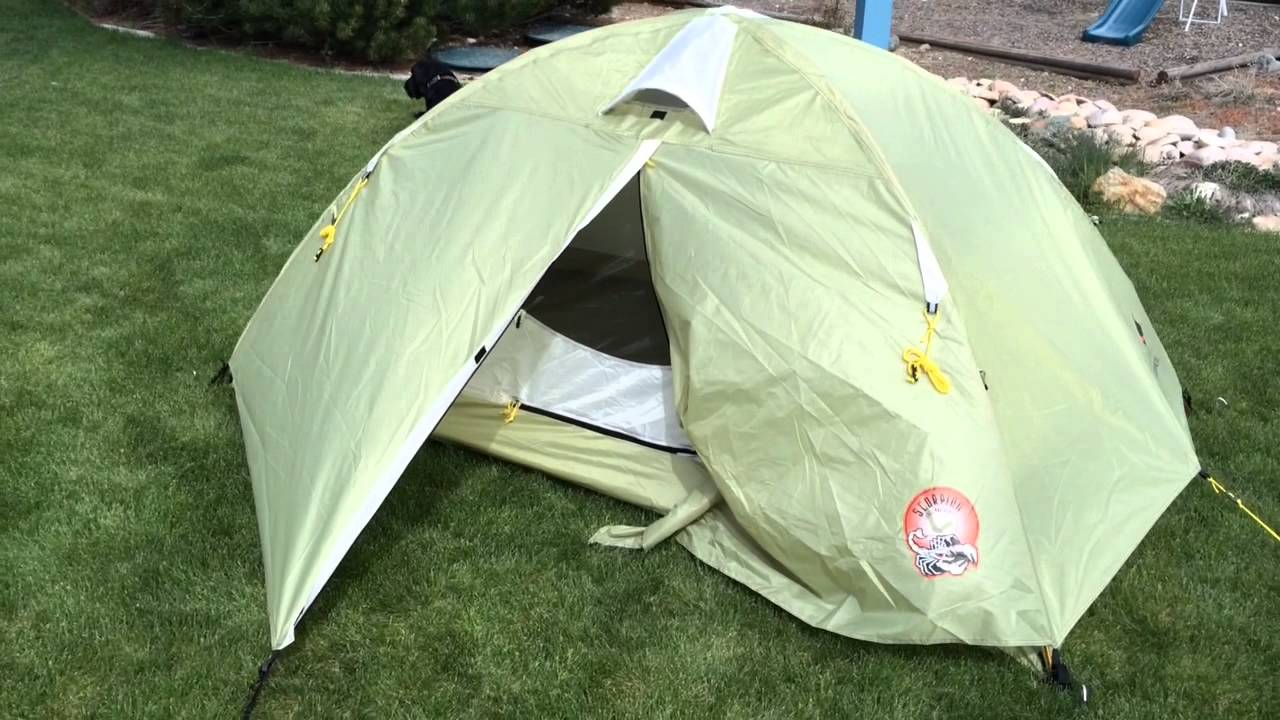 Ledge Sports Scorpion Tent & Ledge Sports Scorpion Tent - YouTube