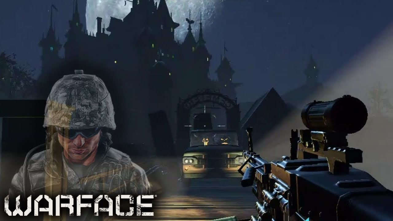 Warface Crew Deathmatch | Finest/Humorous/Fail moments | Halloween version | Cemetery Map