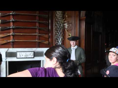 American Colonial Governor's Palace, Williamsburg, Virginia Part 1