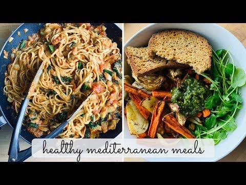 Mediterranean Diet   What I Eat in a Day Vlog