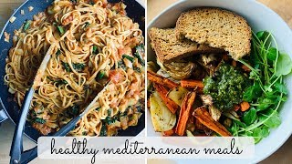 Mediterranean Diet | What I Eat in a Day Vlog