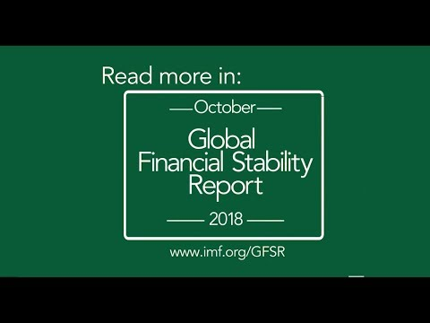IMF Global Financial Stability Report, October 2018