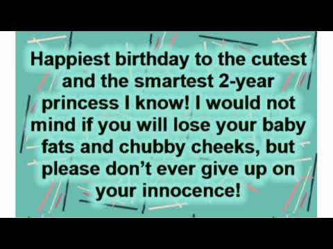 Happy 2nd Birthday Wishes – Top Happy Birthday Wishes