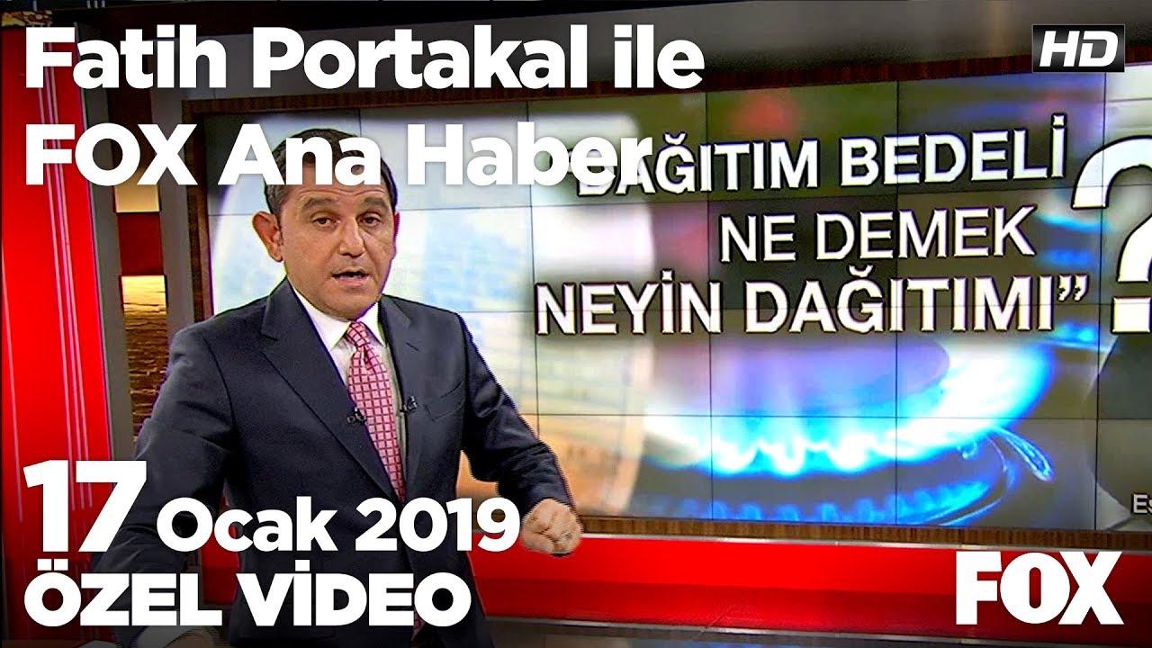 Eski Ak Partili vekilin elektrik faturası tepkisi! 17 Ocak 2019 Fatih Portakal ile FOX Ana Haber