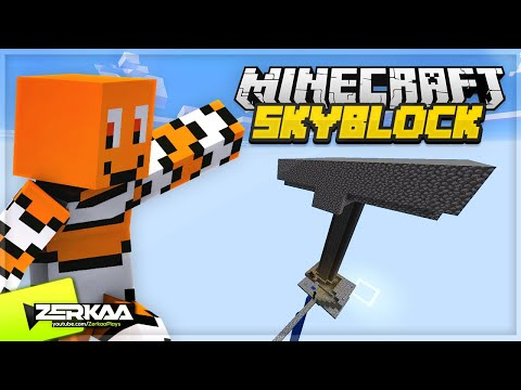 BUILDING A GIANT MOB SPAWNER IN THE SKY FOR XP AND LOOT! (Minecraft Skyblock #5 LIVE 🔴) thumbnail