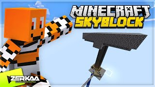 BUILDING A GIANT MOB SPAWNER IN THE SKY FOR XP AND LOOT! (Minecraft Skyblock #5 LIVE 🔴)
