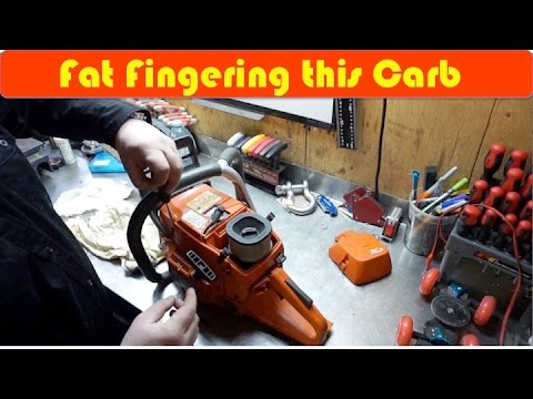 Chainsaw Carburetor Rebuild DIY