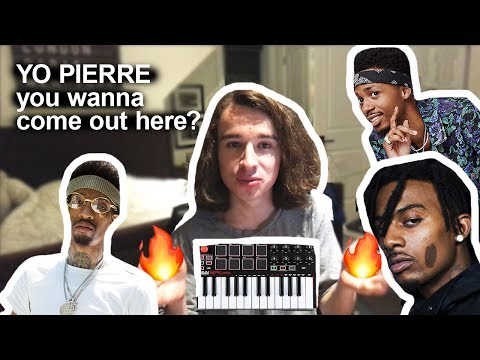 Making a beat with PRODUCER TAGS (Metro Boomin, Pierre Bourne, Sonny Digital etc..)
