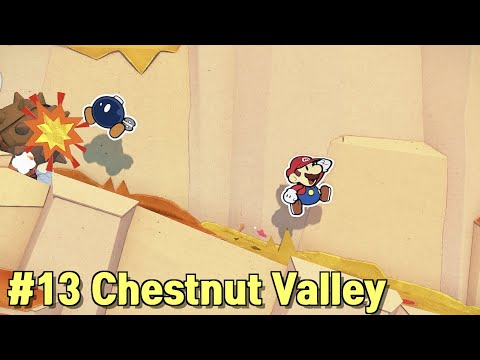 Paper Mario the Origami King: #13 Save Bob-omb in Chestnut Valley