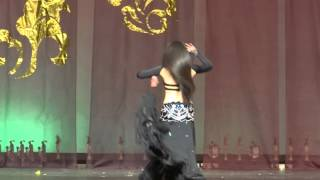 2013 8nd nagwa fouand cup interpitional bellydance por solo silver award lui shu jan