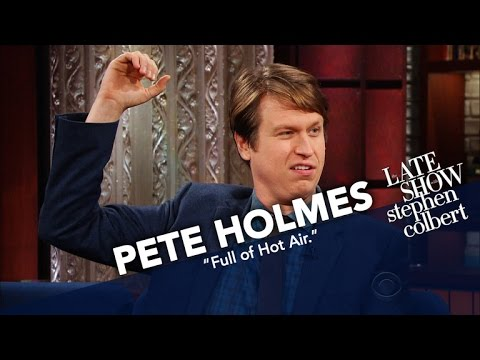 Pete Holmes Proposed To His Lady In A Hot Air Balloon
