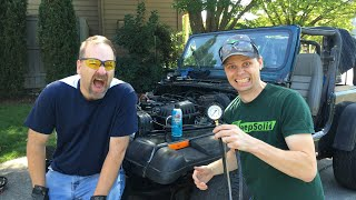 Trying to Start My Rebuilt Engine: Fuel Pressure Test