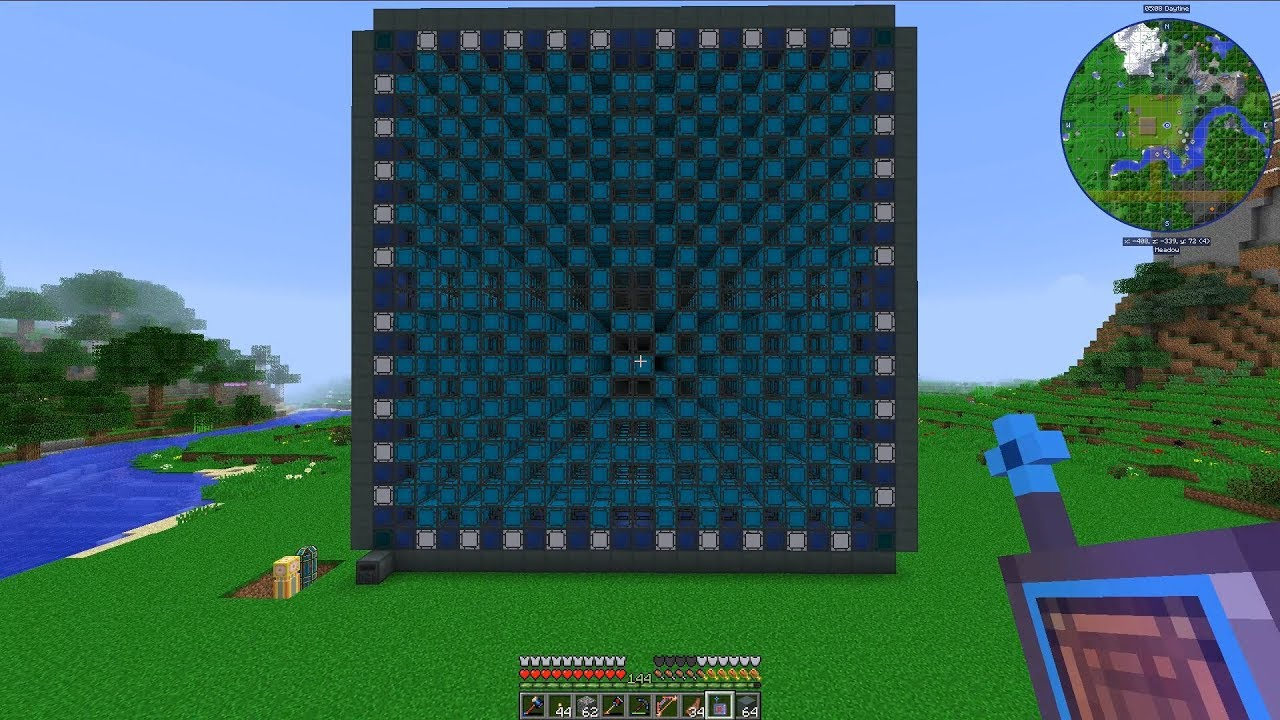 Automate Everything Ep  74: Massive (24x24x24) NuclearCraft Fission Reactor  Build!