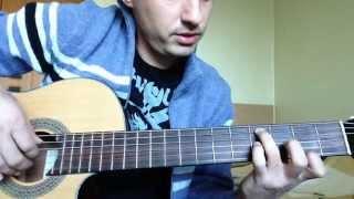 """Разбор на гитаре - песня """"Ангелы не спят"""" !!!"""