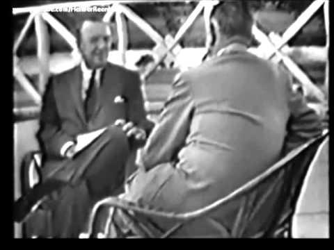 September 26, 1960 - Texas Senator Lyndon B. Johnson interviewed by Walter Cronkite