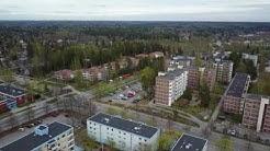 Vantaa Havukoski Mavic Flight 4K